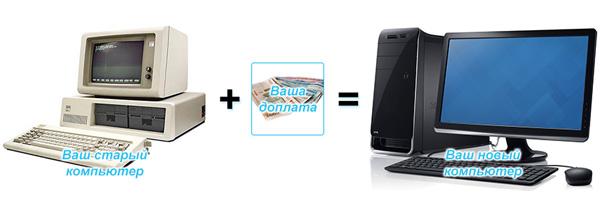 Сдать старый компьютер за деньги