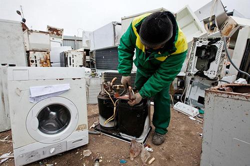 Где принимают стиральные машины