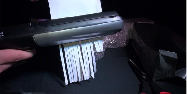 Принцип работы аппарата для уничтожения документов,